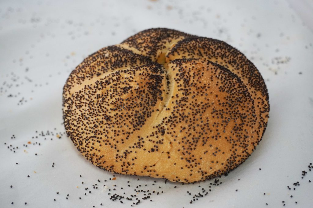 Kaiser Bun with Poppy Seeds